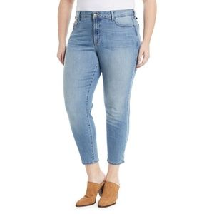 Light Wash NYDJ Ankle Jeans